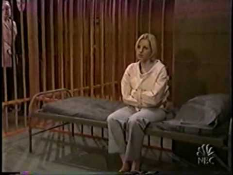 PASSIONS Gwen in straitjacket 1/2 - YouTube