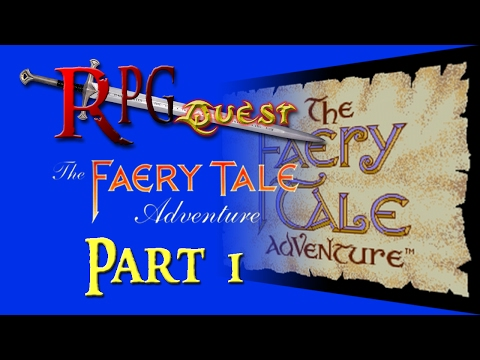 RPG Quest #58: The Faery Tale Adventure (Genesis) Part 1