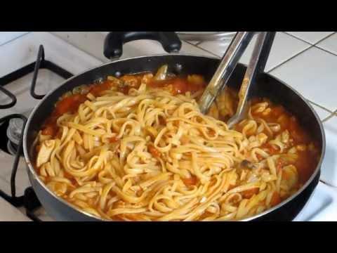 Image Result For Pollo Guisado Con Espaguetis Receta