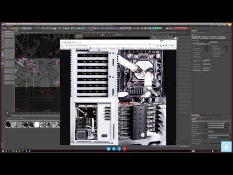 Joey Camacho + Ash Thorp / Cinema 4D and Design for Production Workflow / Learn Squared Live Stream