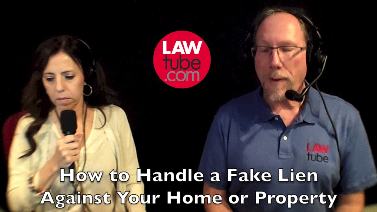 Fake liens against real estate