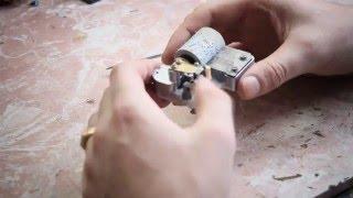 Ремонт механической музыкальной шкатулки