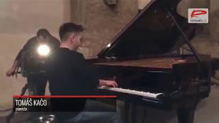 Tomáš Kačo koncertuje v Anežském klášteře