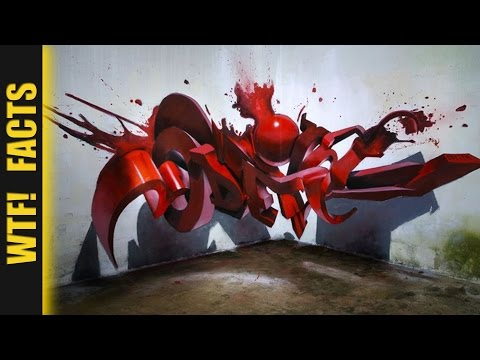 10 Incredible 3D Street Arts Looks Like It's Jumping off the Walls | LISTING #4
