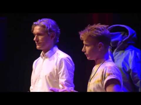 Saving lives with a sheltersuit | Bas Timmer & Alexander de Groot | TEDxSaxionUniversity