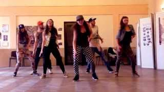 Weronika Otrebska dancehall choreo on Konshens