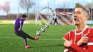 Lewandowski vs freekickerz ⚽ Free Kick Shootout thumbnail