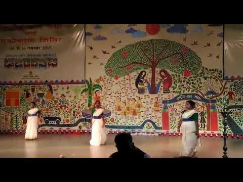 Cultural program of delhi bal bhawan......