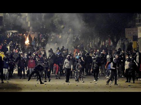 تونس: تجدد الاحتجاجات الليلية في عدة مدن ومنظمة العفو الدولية تدعو إلى ضبط النفس  - 13:00-2021 / 1 / 19
