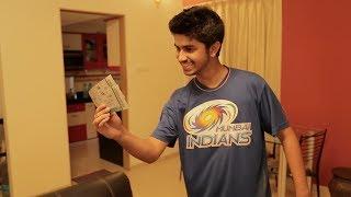 Mumbai Indians Fanspotter Surprise - Nachiket