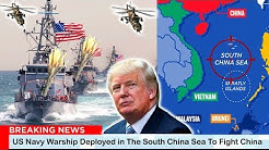 US Angry ( April 27, 2020) - US Navy Warship Deployed in The South China Sea To Fight China