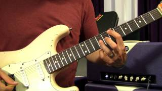 Green Day - East Jesus Nowhere - Guitar Lesson - How To Play