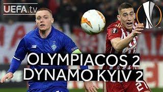 OLYMPIACOS 2-2 DYNAMO KYIV #UEL HIGHLIGHTS
