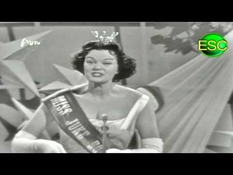 ESC 1958 08 - Germany - Margot Hielscher - Für Zwei Groschen Musik