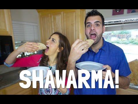 MAKING THE BEST SHAWARMA IN YOUR KITCHEN!  الشاورما