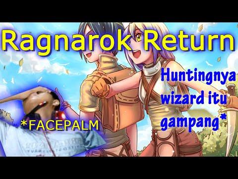 RAGNAROK RETURN - WIZARD SOLOHUNT ALARM - HUNTING WIZARD ITU SERU... BANGET!.. WKWKKW T_T