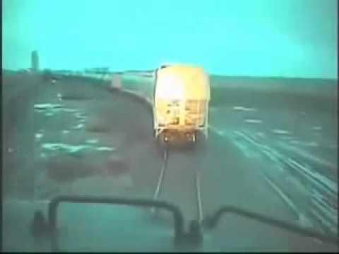 Live On-Board Train Crash