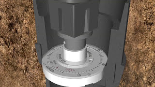 Valve Position Indicator Animation for Round Extension Stem