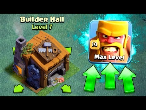FIRST EVER LEVEL 14 TROOP AT BUILDERS HALL 7! - GEM TO MAX LEVEL!! - Clash Of Clans