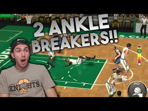 99 JASON WILLIAMS VS 97 CHAUNCEY POSITION BATTLE IN NBA Live Mobile!!  2 ANKLE BREAKERS!!