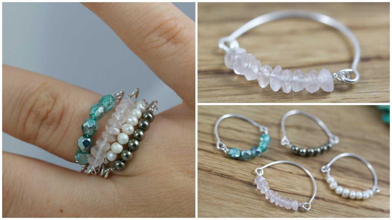 How To Make Wire Jewelry Rings