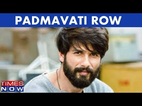 Padmavati Row: Shahid Kapoor Briefs The Media, Hopeful About Release