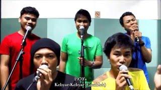 Easycapella - Evolution of Indonesian Music/Evolusi Musik Indonesia (Acapella Cover Medley)