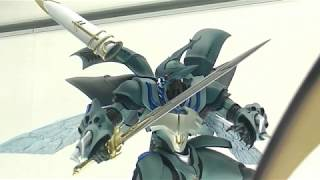 This week Bellvine from Aura Battler Dunbine was on display at the Tamashii Nations Akiba Showroom. Pretty cool! For more info you can check out these sites ...