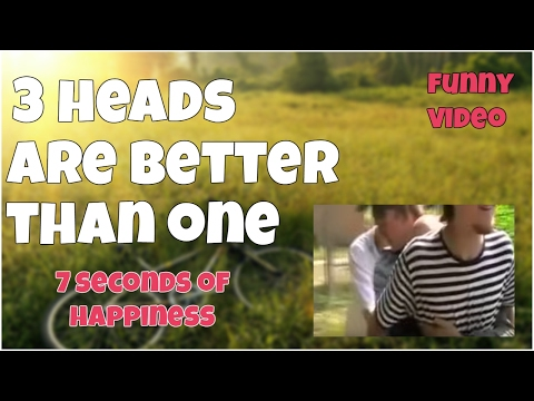 3 heads are better than ONE ★ Epic Fail FUNNY Video 😂