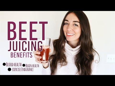 Beet Juicing Benefits: 1 year of beet juicing!