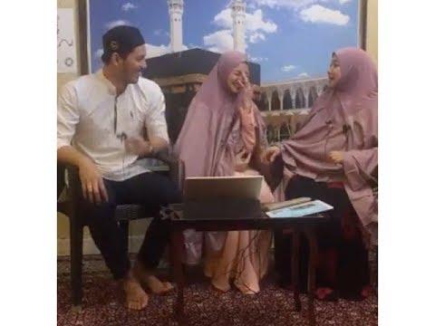 Fattah Amin dan Nur Fazura di Telekung Talk Prof Muhaya