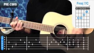Alejate de Mi - Camila Guitarra Como toc...