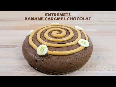 recette-entremets-banane-caramel-chocolat