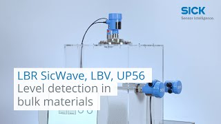 LBR SicWave, LBV and UP56 from SICK: Level detection in bulk materials | SICK AG