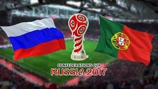 Футбол РОССИЯ ПОРТУГАЛИЯ ОБЗОР МАТЧА полная версия