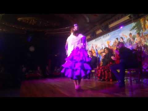 VI Concurso de Baile Flamenco Villa Rosa 2017 : Primer Premio compartido Ayasa Kajiyama