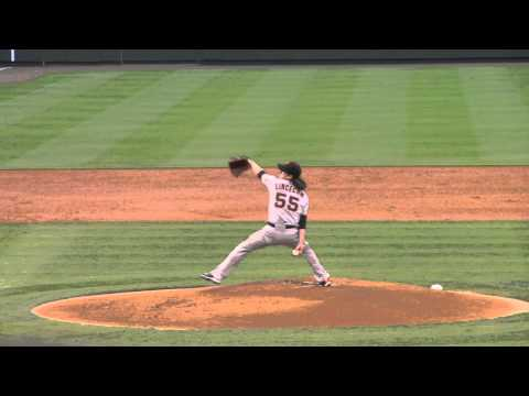 Tim Lincecum pitching in slow motion