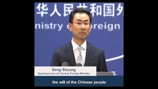 China warns the US to stop meddling in HK affairs