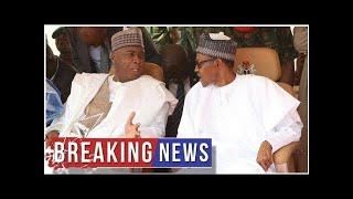 Breaking News - 2019: How Buhari's peace deal with Saraki fell apart (FULL DETAILS)