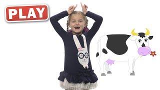 КУКУТИКИ PLAY - Зарядка - Детская песенка со Златой для детей, малышей - Finny Kids Song thumbnail