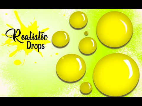 How to create realistic water drops-PHOTOSHOP TUTORIAL thumbnail