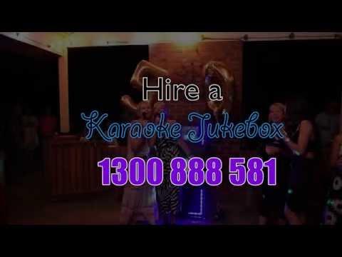 karaoke jukebox hire
