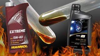 Czy Mannol 5W40 jest lepszy niż Tipp Oil 5W40? Sprawdźmy...