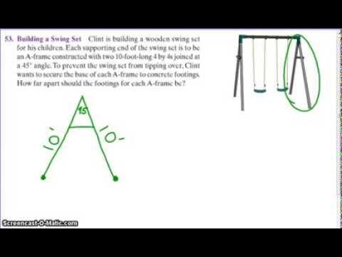 Building swingset