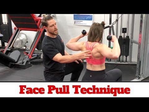Face Pull Technique 101 (Delt & Back Hypertrophy)