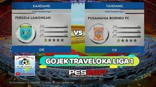 Video Gol Pertandingan Persela Lamongan vs Pusamania Borneo FC