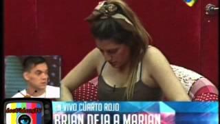 Brian dejo a Marian con un video en el cuarto rojo GH 2015