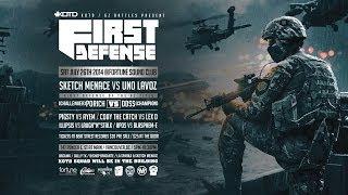 KOTD - GZ - FIRST DEFENSE July 26 - Video Flyer