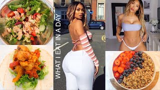 WHAT I EAT IN A DAY | Non Vegan + Healthy