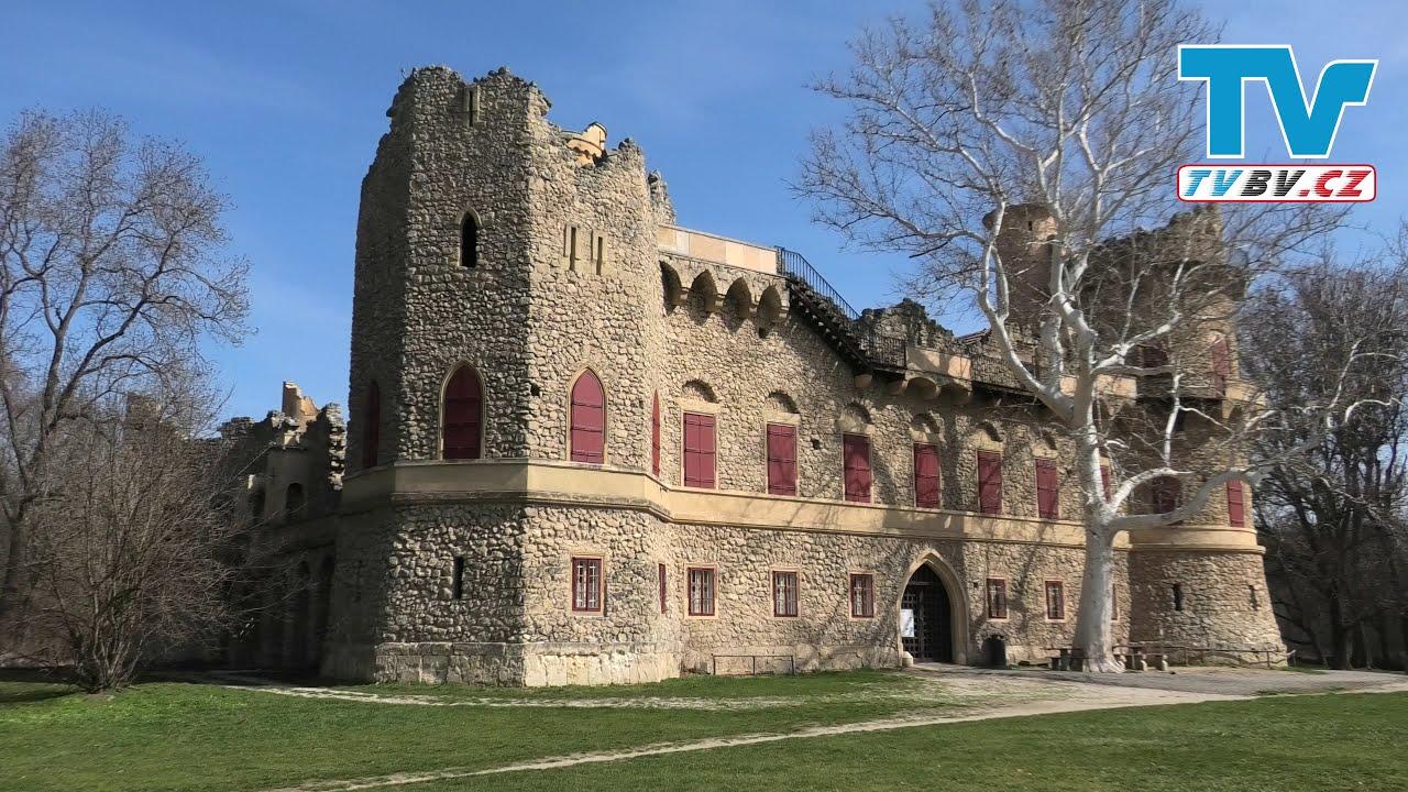 Janův hrad a naučná stezka lužním lesem (Lednicko-valtický areál - UNESCO)